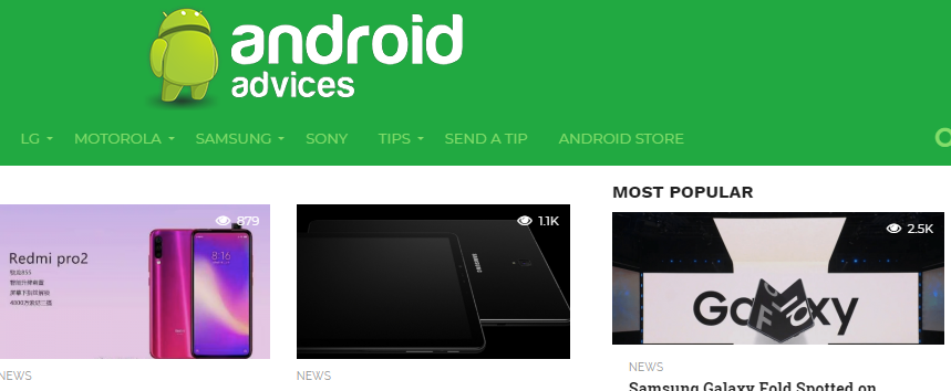 androidadvices tech blog snapshot