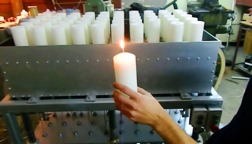 candle manufacturing
