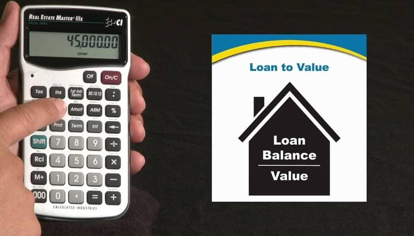 loan to value ratio ltv calculator