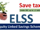 best tax saving elss funds