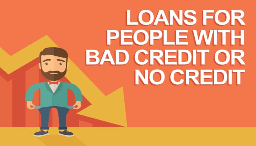 How to get Personal Loan with Bad Credit or No Credit Check
